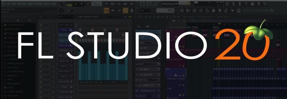 水果编曲软件 FL studio 20 mac 破解版(附注册机&破解补丁)