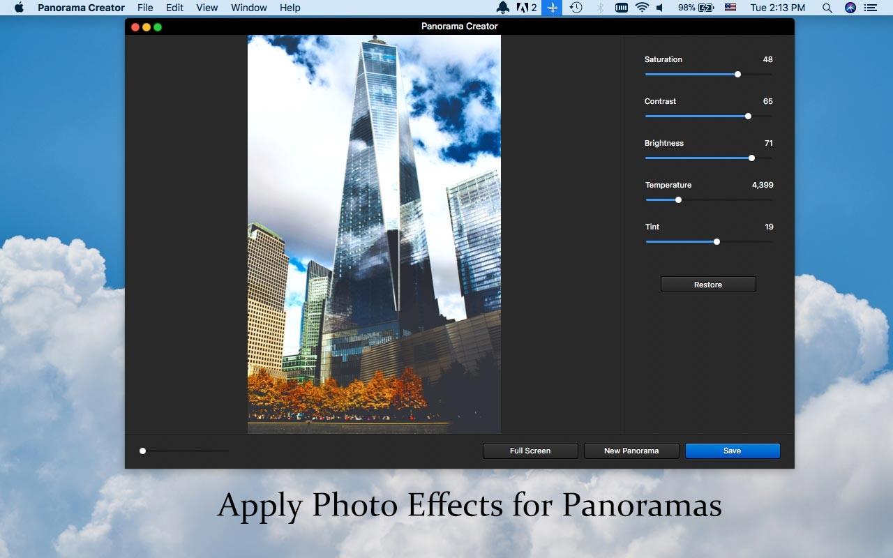 全景图片拼接软件 WidsMob Panorama mac v3.15 破解版(免激活码)