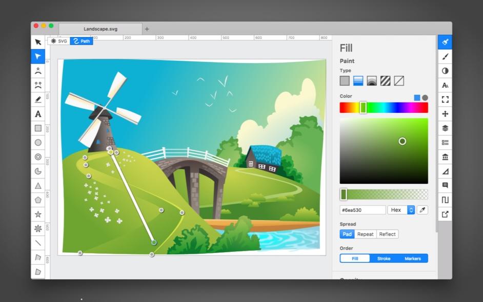 可扩展的矢量图形编辑工具-Boxy SVG for mac 3 破解版