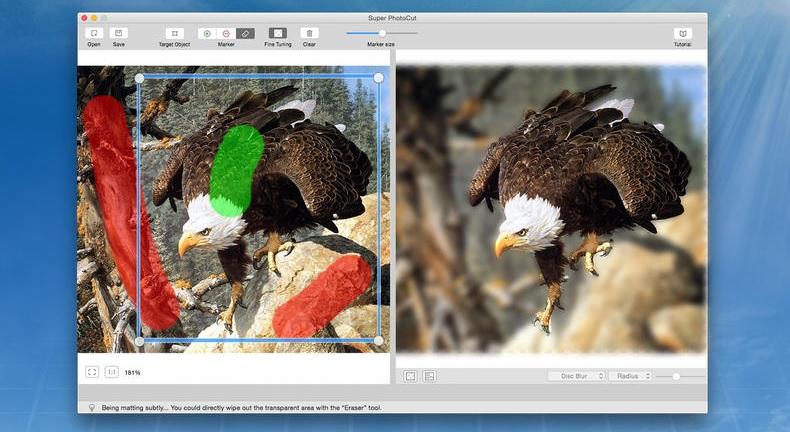 优秀的图片抠图工具-Super PhotoCut for mac 2 破解版(免激活码)