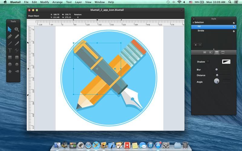 矢量绘图工具 Bluetail for Mac 2 破解版(附激活码)