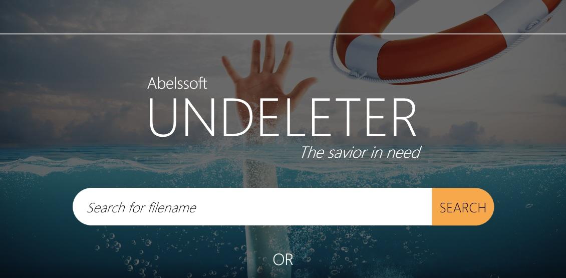 数据恢复软件 Abelssoft Undeleter 5.0.1 破解版(附破解工具)