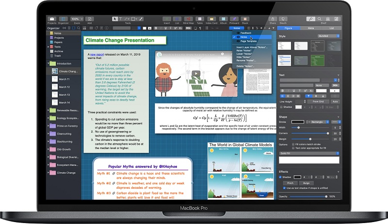 Curio破解版|Curio Professional for mac 13.1.1 破解版—思维导图软件