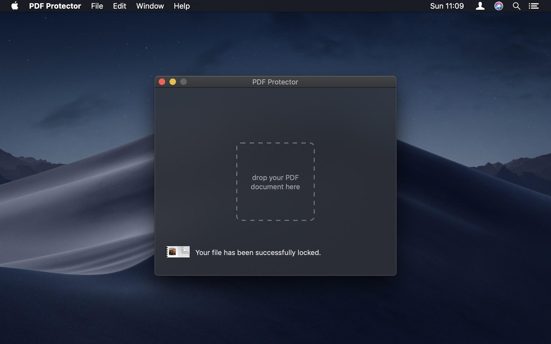 PDF Protector 破解版 for mac 1.4.1 内置激活版—PDF文件加密/解密软件