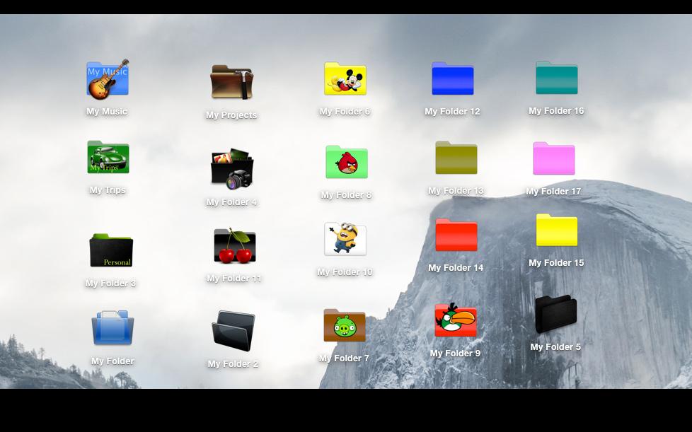 Folder Factory 破解版 v5.7.2 直装破解版—文件图标修改软件