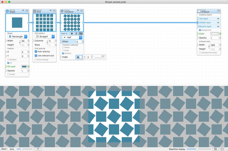 PatterNodes破解版 for mac 2.2.7 直装破解版—图案制作软件