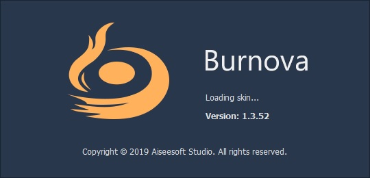 蓝光刻录软件 Burnova破解版 v1.3.5 英文破解版(附注册机)