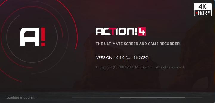 屏幕录像机 Mirillis Action 破解版 v4.0.4 中文破解版(附破解补丁)