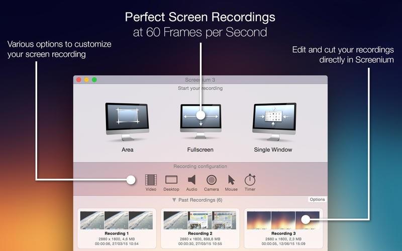 苹果录屏软件 Screenium破解版 v3.2.8 for mac 中文破解版(免激活码)