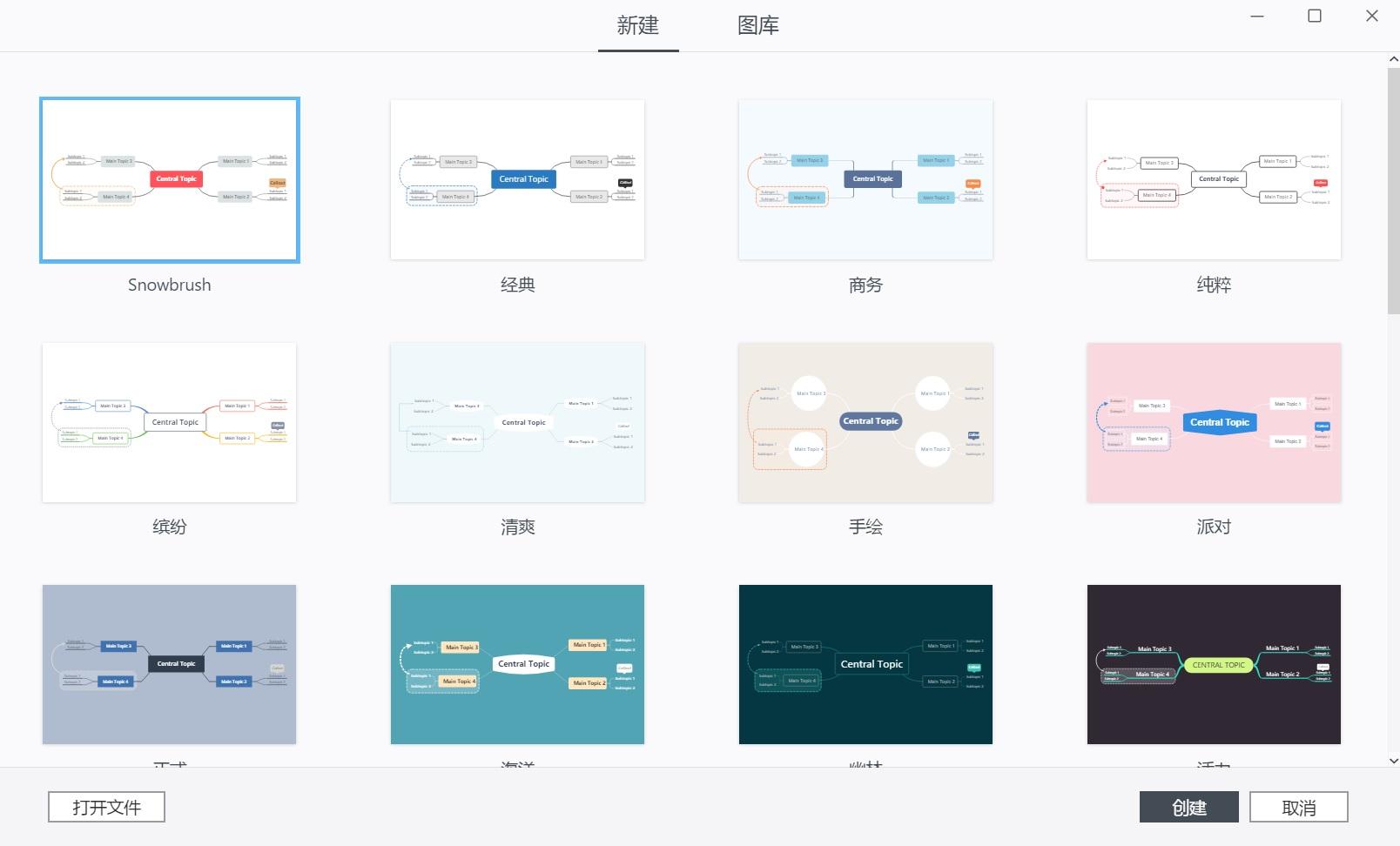 思维导图软件 XMind ZEN 2020 win&mac v10.0.2 中文破解版(附破解补丁)