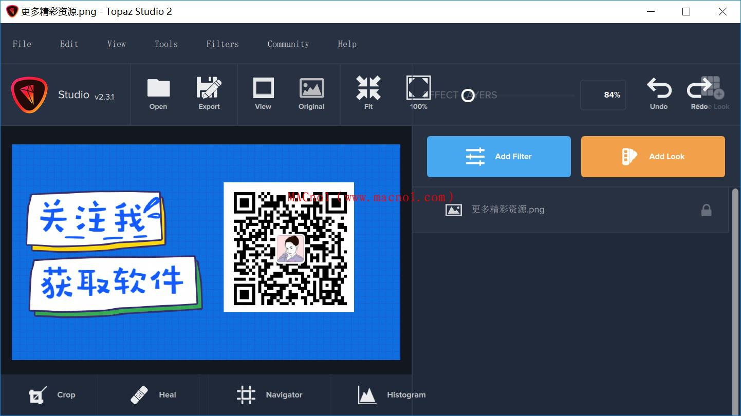 图像编辑软件 Topaz Studio 破解版 v2.3.1 绿色破解版(免激活码)