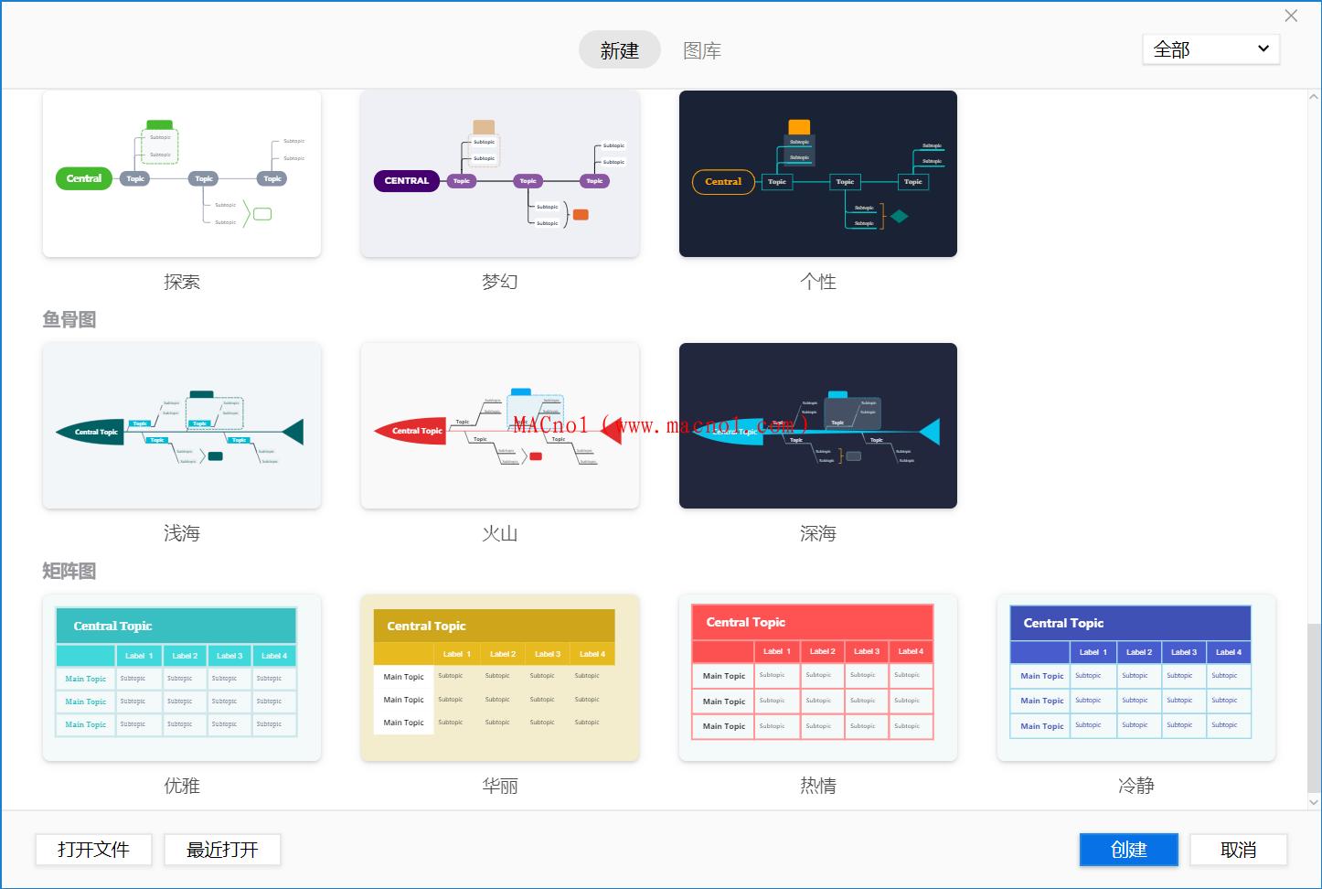 思维导图软件 XMind ZEN 2020 v10.1.3 破解版(附破解补丁)