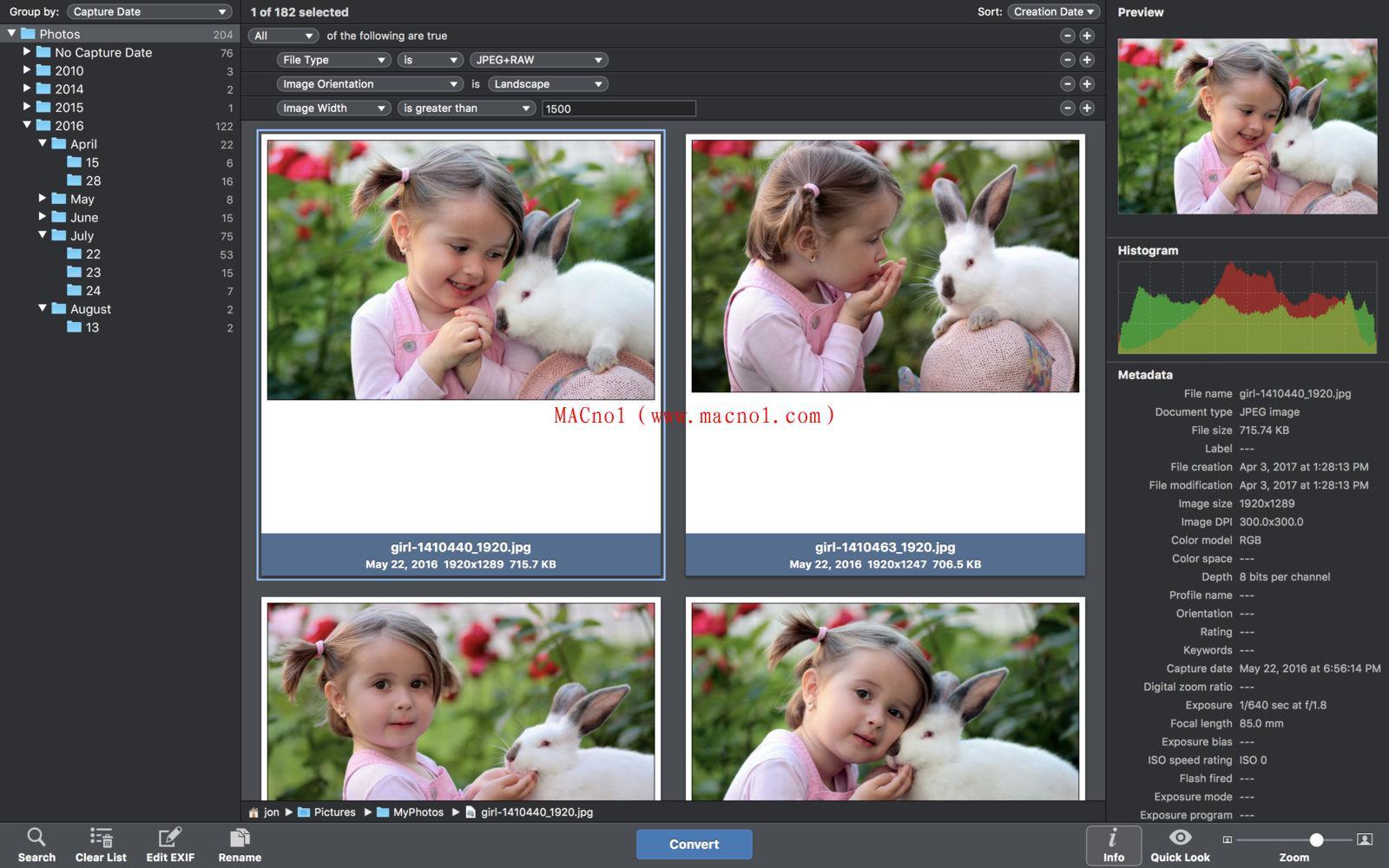PhotoMill X(批量处理图片软件)for Mac 1.6.3 直装破解版