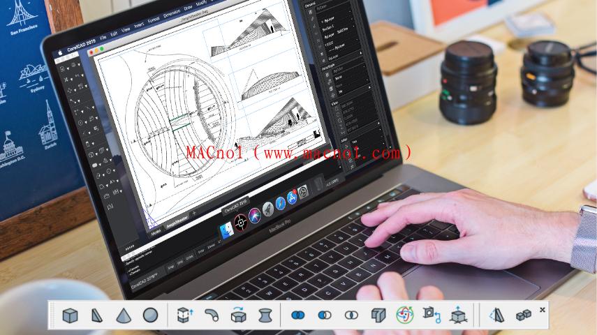 3D制图软件 CorelCAD for Mac 2020 v20.0.0 直装破解版(免激活码)