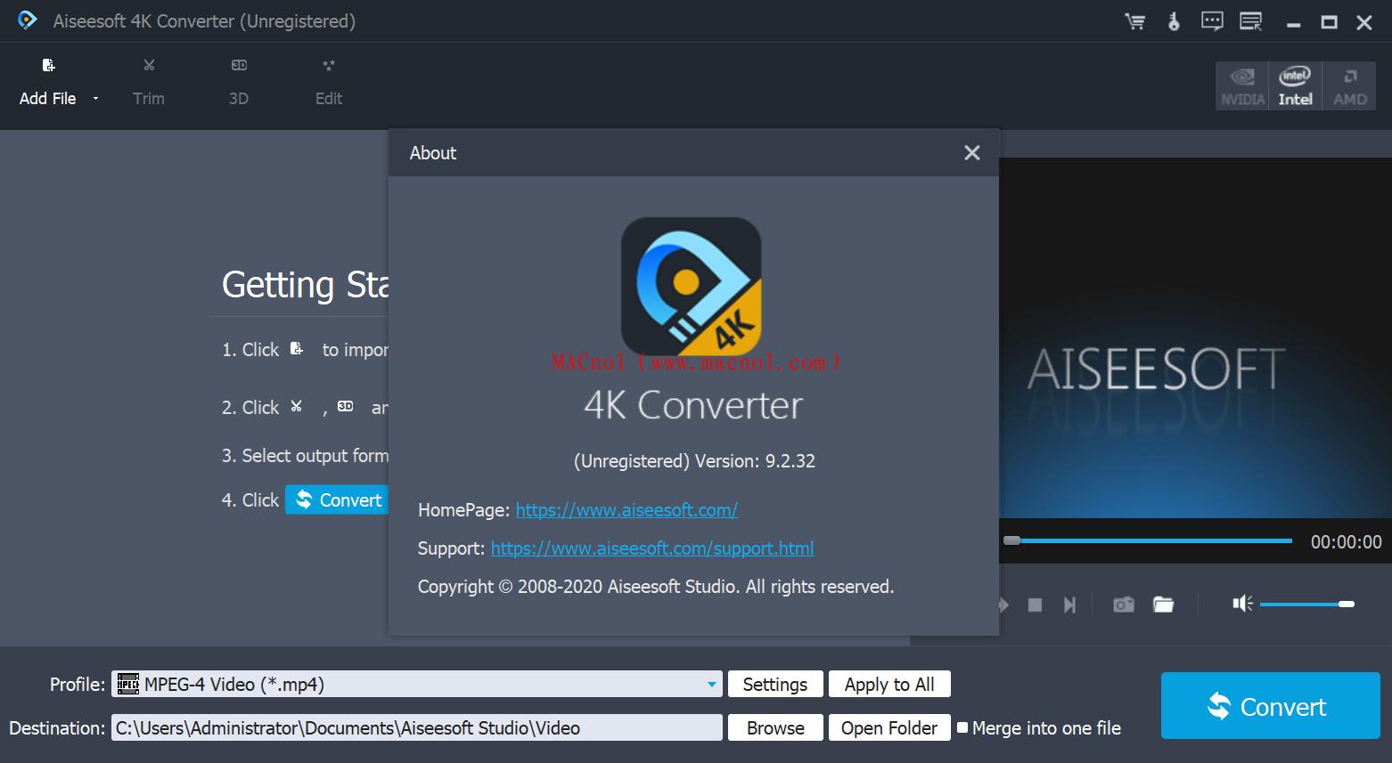 Aiseesoft 4K Converter 破解版.png