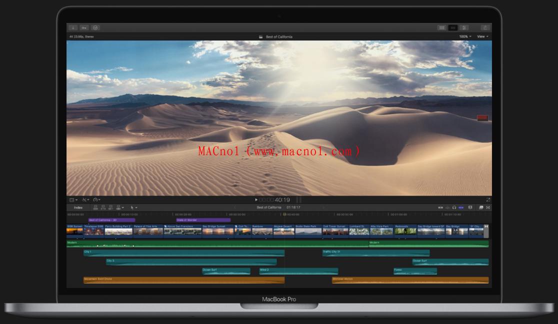 苹果视频编辑软件 Final Cut Pro 破解版 v10.4.8 中文破解版(免激活码)