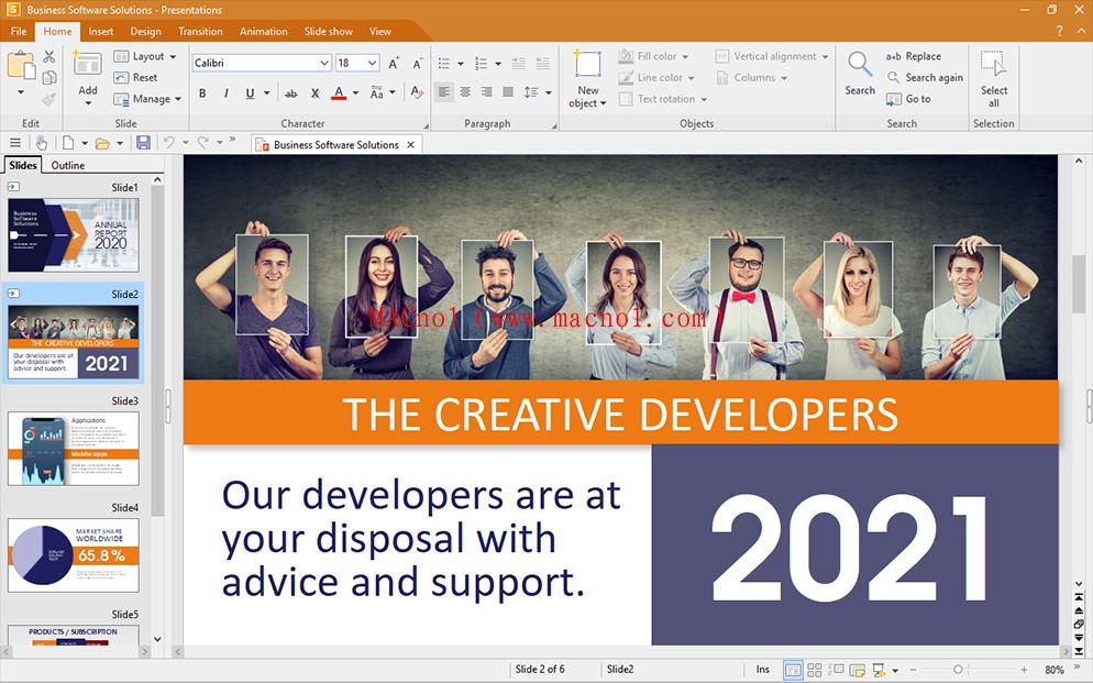 电脑办公软件 SoftMaker Office Pro 2021 中文破解版(附破解文件)