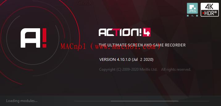 Mirillis Action!破解版(电脑录屏软件)v4.10.1 中文破解版