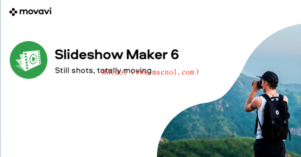 幻灯片制作工具 Movavi Slideshow Maker for MAC v6.6.1 中文破解版(免激活码)
