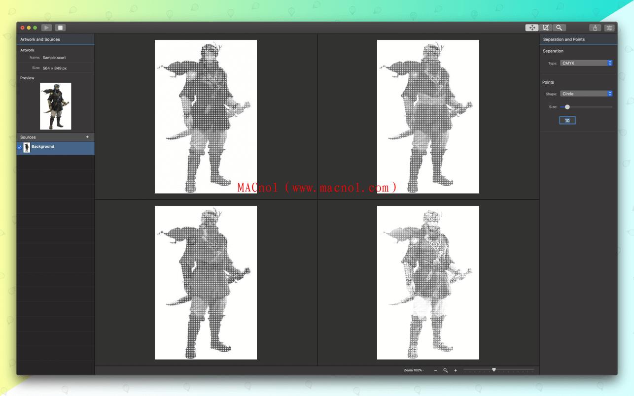 颜色分离工具 Separation Studio for Mac v2.1.3 破解版(免注册码)