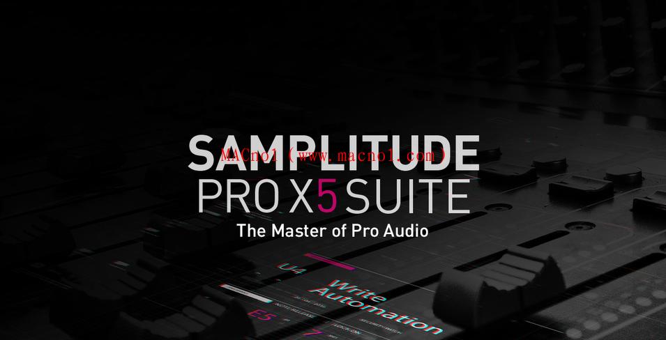 数字音频编辑软件 MAGIX Samplitude Pro X5 v16.0.3 破解版(附破解补丁)