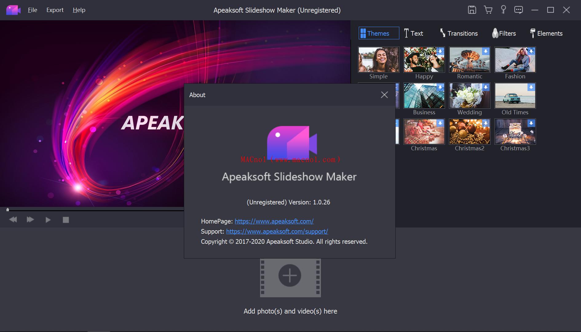 Apeaksoft Slideshow Maker 注册机.png