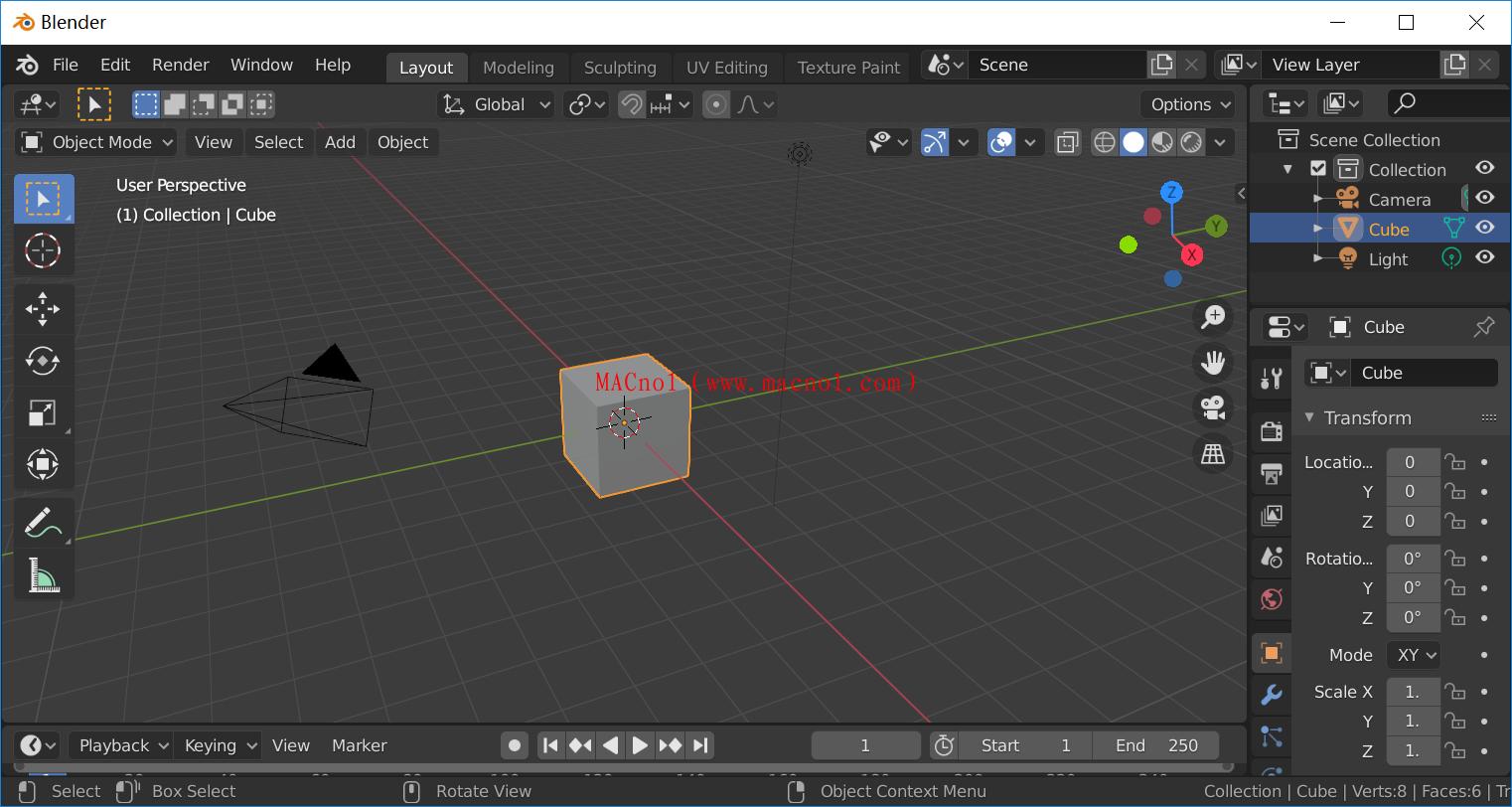 3D制作软件 Blender 3D 破解版 v2.83.4 绿色破解版(免注册码)