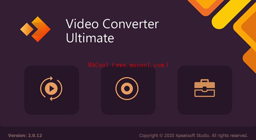 视频转换器 Apeaksoft Video Converter v2.0.12 破解版(附破解补丁)