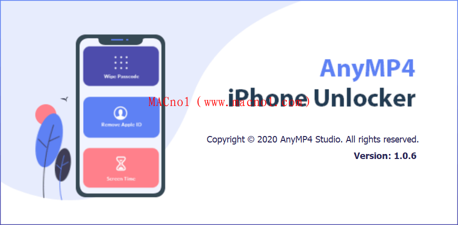 iOS解锁工具 AnyMP4 iPhone Unlocker v1.0.6 破解版(附破解补丁)