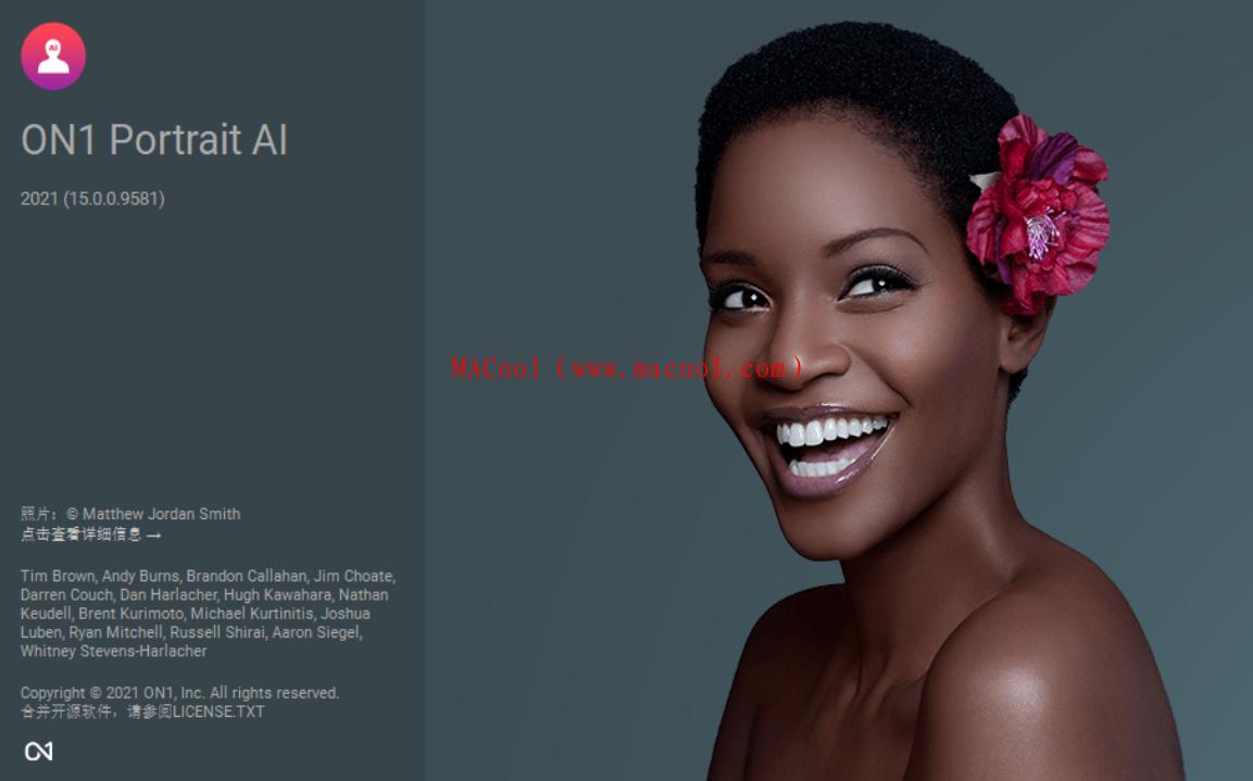 图像处理软件 ON1 Portrait AI 2021 v15.0.0 破解版(附破解补丁)