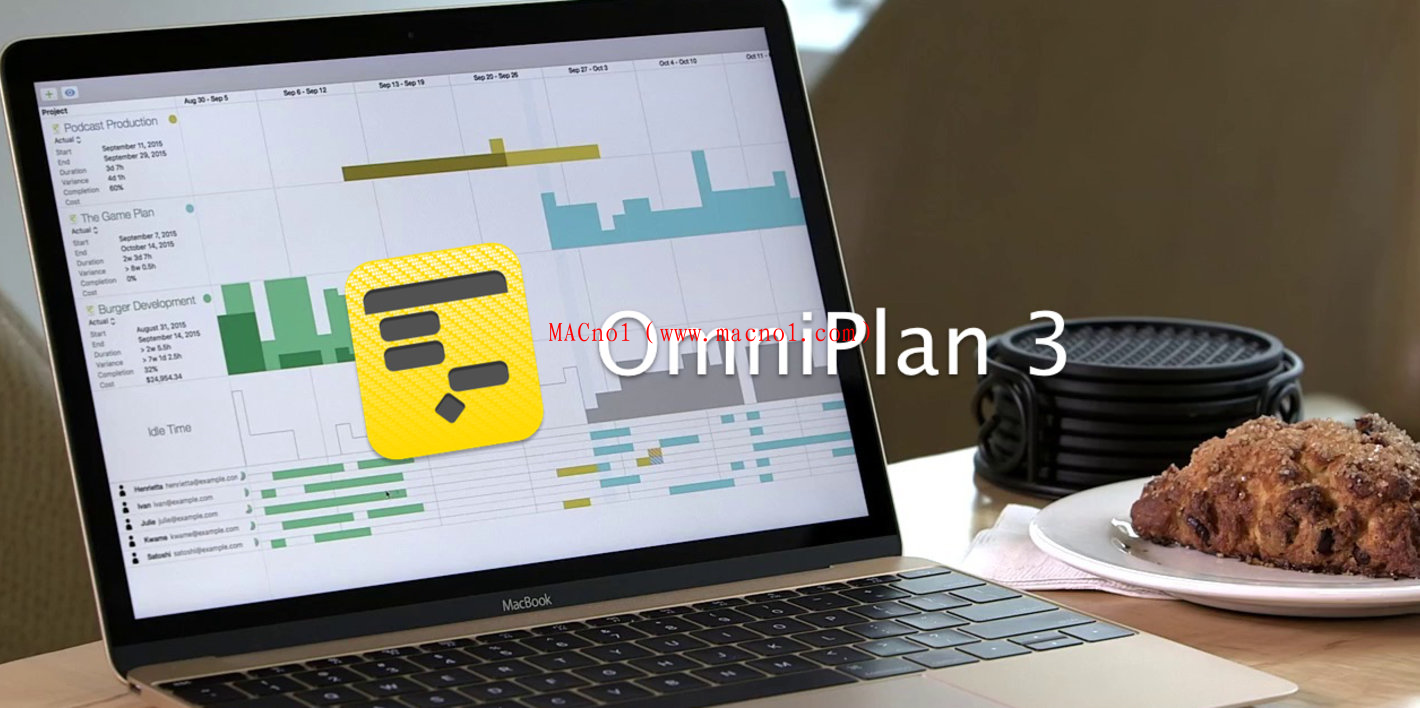 OmniPlan(项目管理流程软件)v3.14.4 for Mac 破解版 附注册机