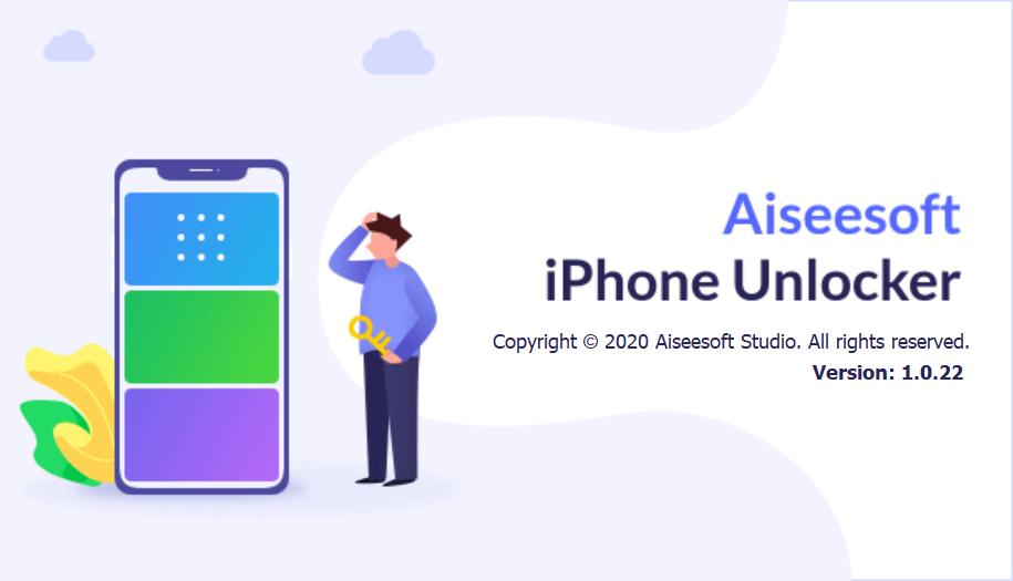 设备解锁软件 Aiseesoft iPhone Unlocker v1.0.22 破解版(附注册机)