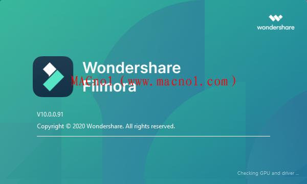 万兴神剪手 Wondershare Filmora v10.0.0.91 中文破解版(免激活码)