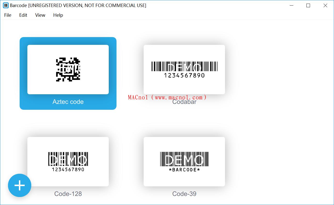 Appsforlife Barcode(条形码制作软件)v2.0.4.0 破解版 附破解补丁