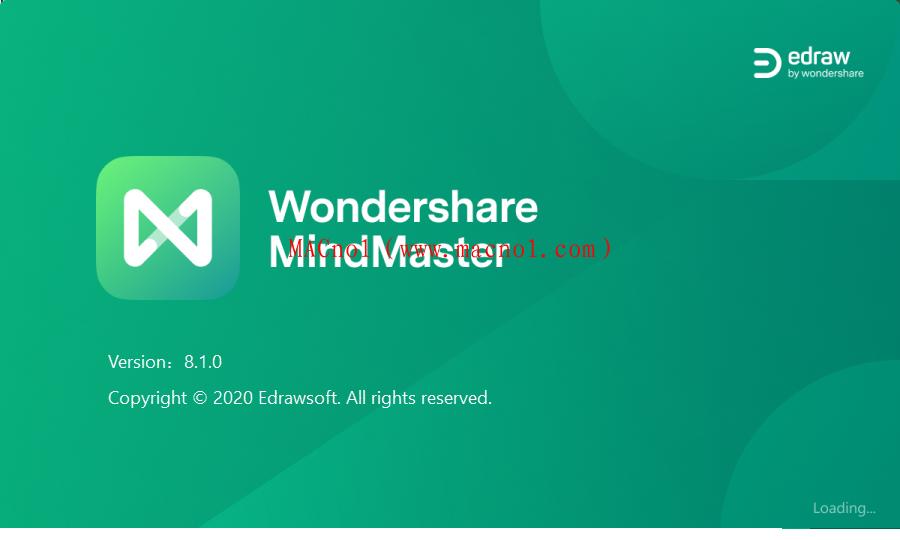 亿图思维导图软件 MindMaster Pro v8.1.0 中文破解版(附破解补丁)