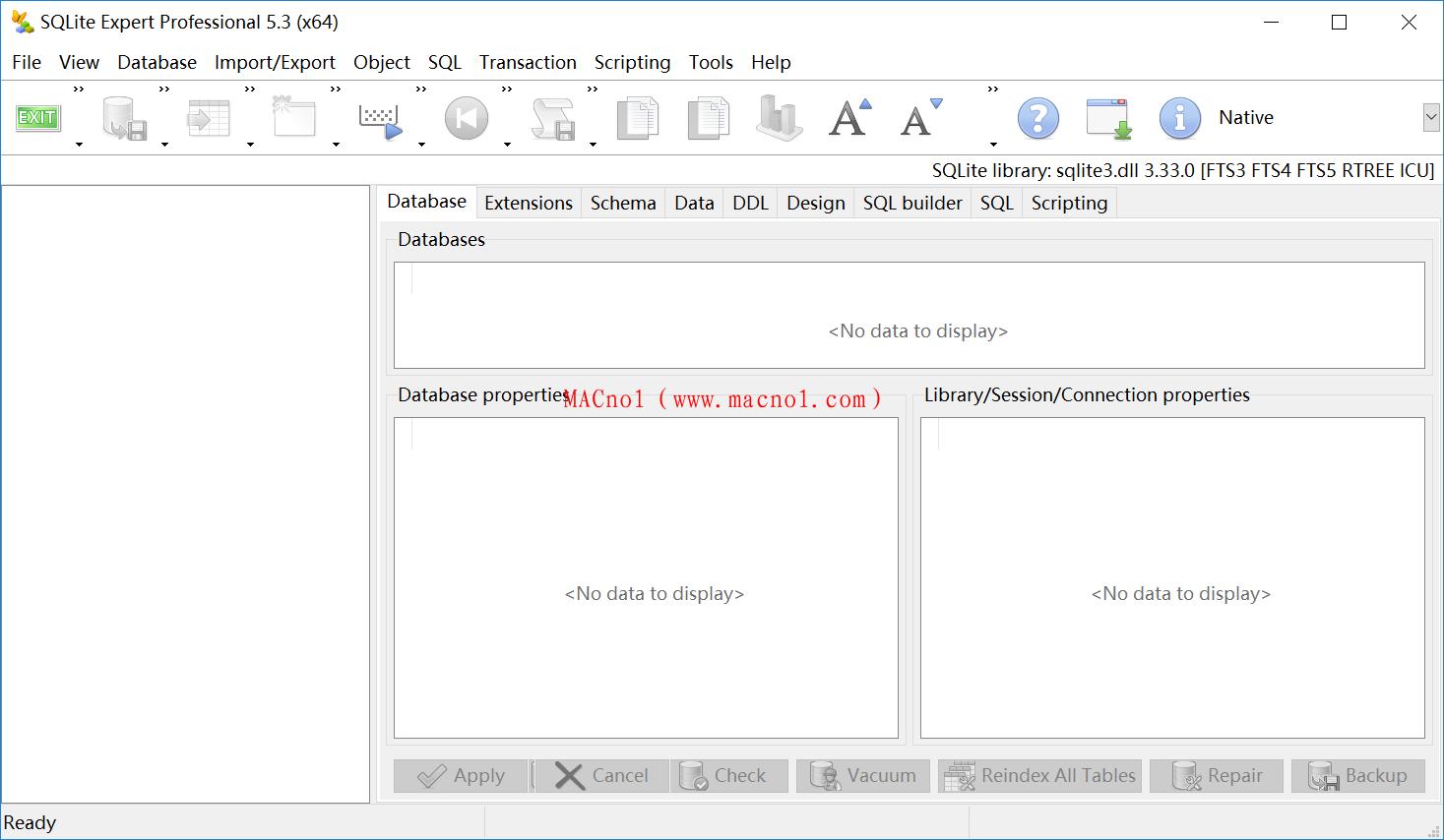 数据库管理软件 SQLite Expert Pro v5.4.2 破解版(附注册文件)
