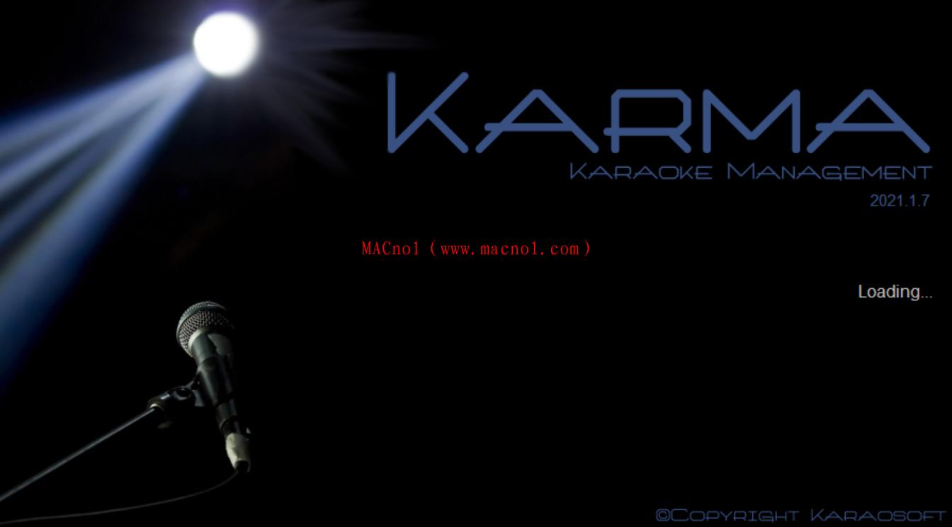 卡拉OK管理系统应用 Karaosoft Karma 2021.1.7 破解版(附注册机)