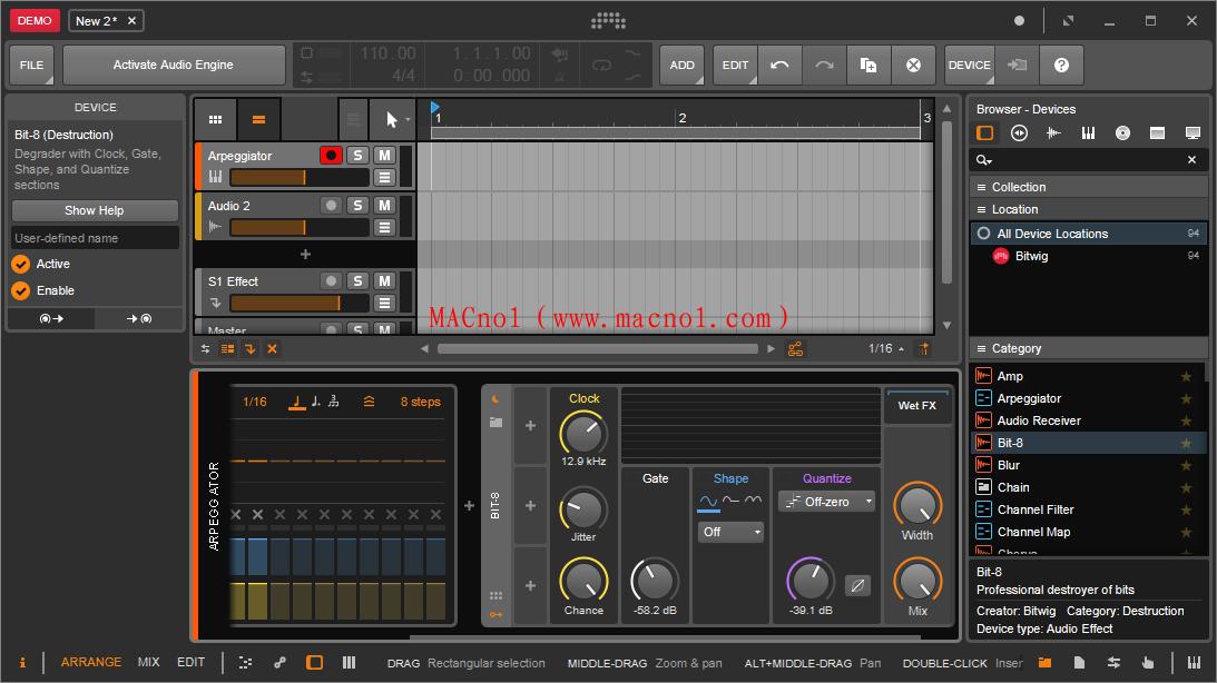 Bitwig Studio 破解版.png