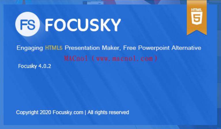 Focusky Premium(万彩动画大师)v4.0.2 破解版 附和谐文件