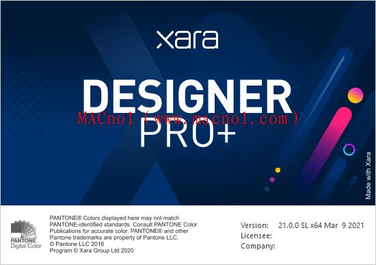 图像编辑软件 Xara Designer Pro 2021.0.0 破解版(附替换文件)