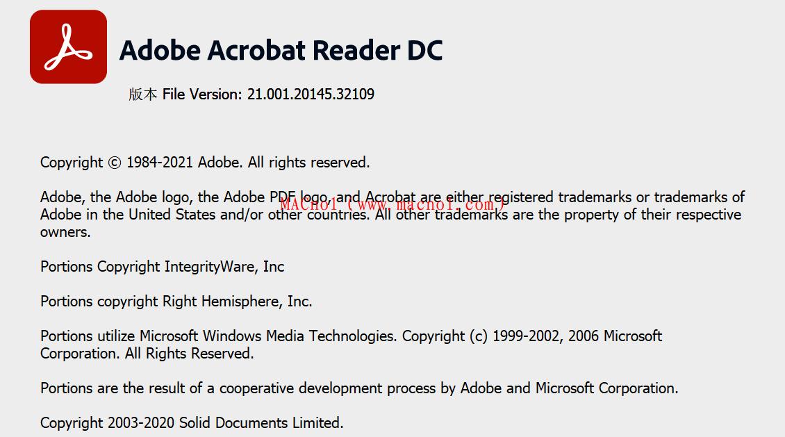 PDF阅读器 Adobe Acrobat Reader 2021.001.20 破解版(附激活码)