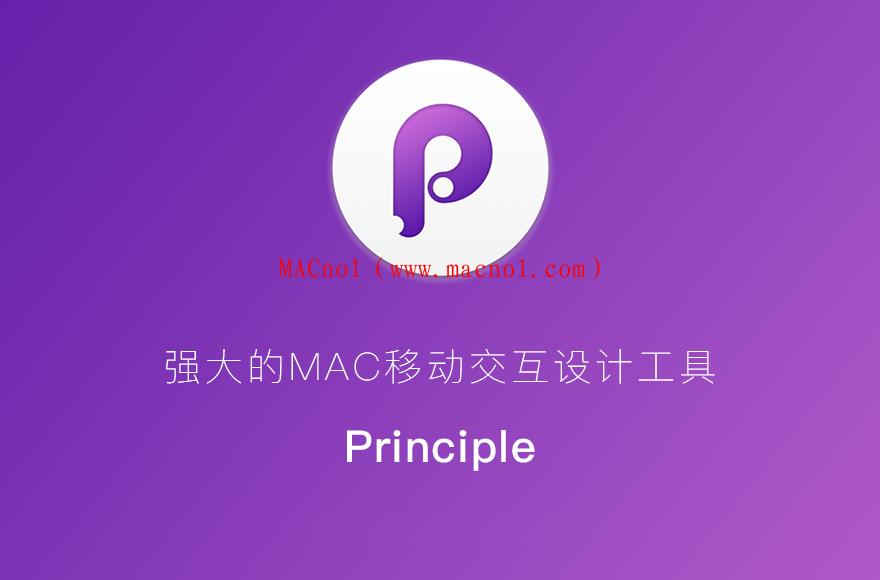 Principle(原型设计软件)v6.3.0 中文破解版 附注册码