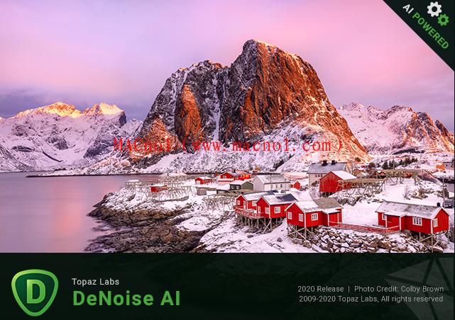 Topaz DeNoise AI(图像降噪软件)v3.0.0 破解版 附激活文件