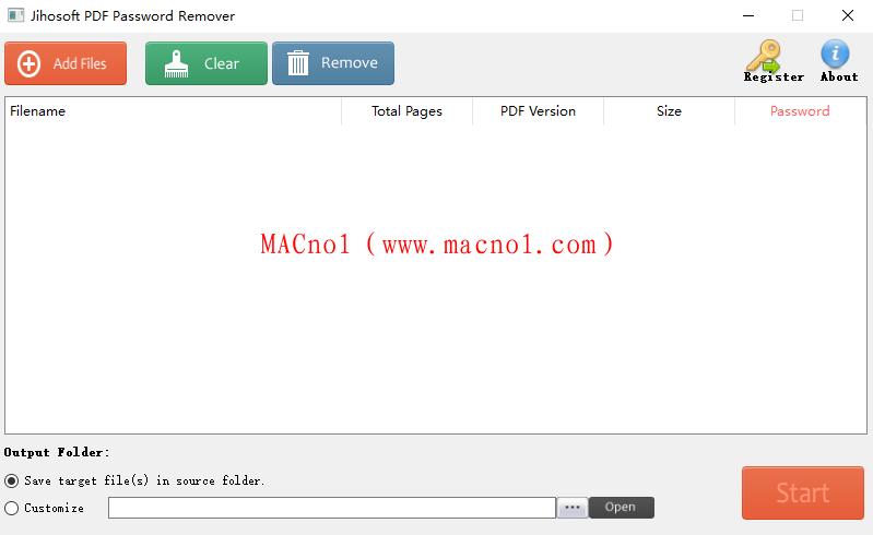 密码移除工具 PDF Password Remover v1.5.0 破解版(附注册机)