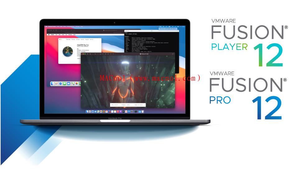VMware Fusion(苹果虚拟机)v12.1.1 中文破解版 附注册码