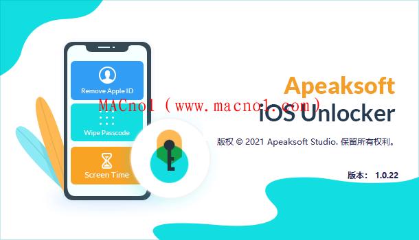 设备解锁软件 Apeaksoft iOS Unlocker v1.0.22 破解版(附破解补丁)
