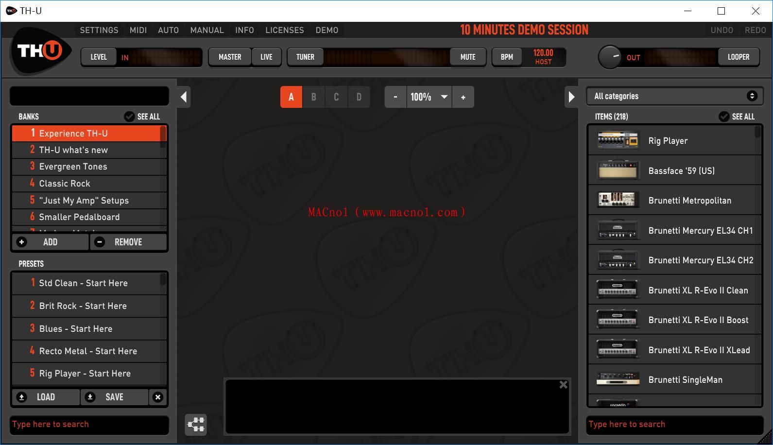 吉他谱曲软件 Overloud TH-U Complete v1.3.5 破解版 附注册机