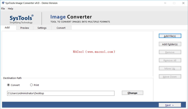 图像转换器 SysTools Image Converter v4.0.0 破解版(免注册码)