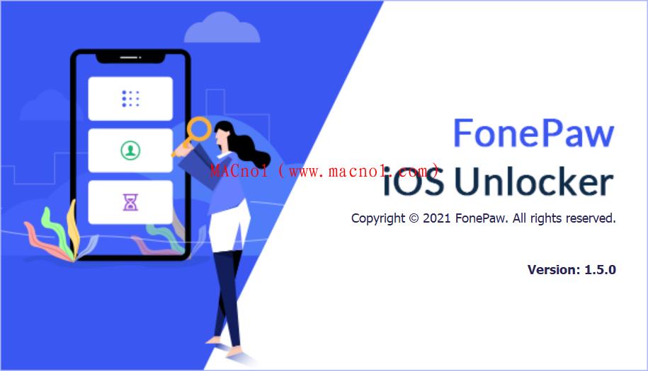 FonePaw iOS Unlocker(设备管理软件)v1.5.0 破解版 免注册码